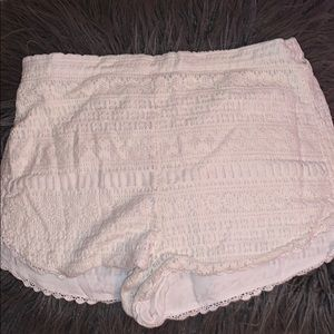 Lace pac sun shorts by Kendall and Kylie